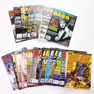 Vintage Bass Player Magazine Back Issues Musician